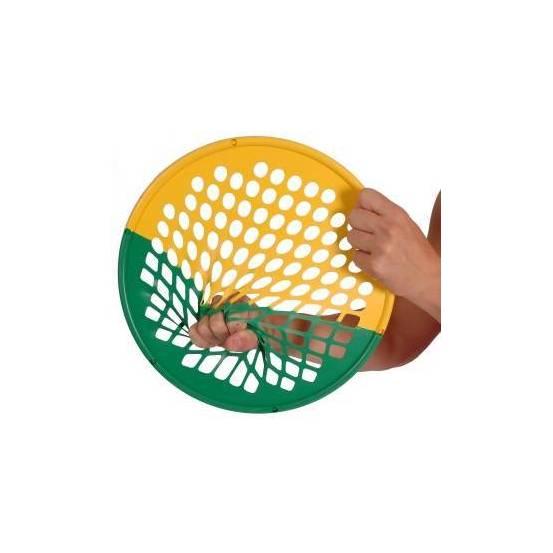 Power Web Combo 1 combine une moitié souple (jaune) et une moitié forte (verte).