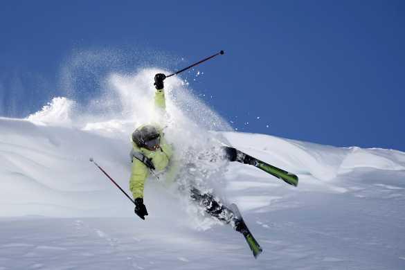 Quelles solutions de retour au mouvement après une chute de ski ?
