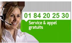 Tel : 01 84 20 25 30 service clients gratuit